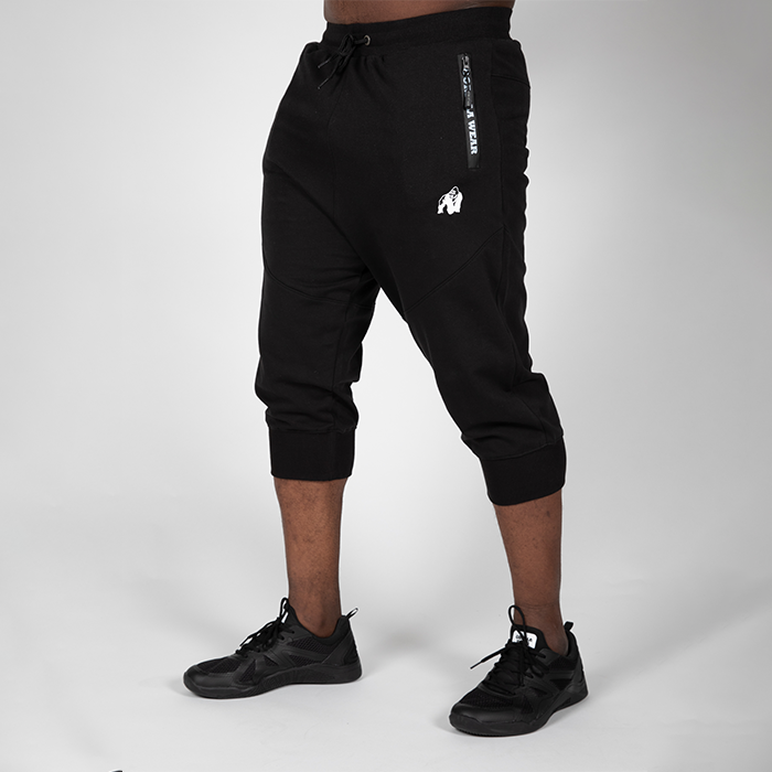 Knoxville 3/4 Sweatpants, Black