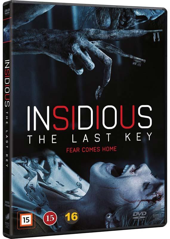 Insidious: The Last Key - DVD
