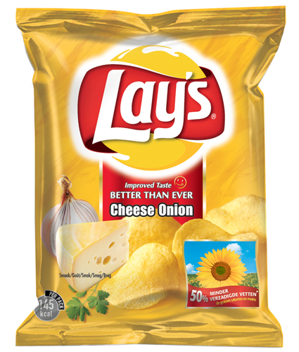 Lays Cheese & Onion 175g