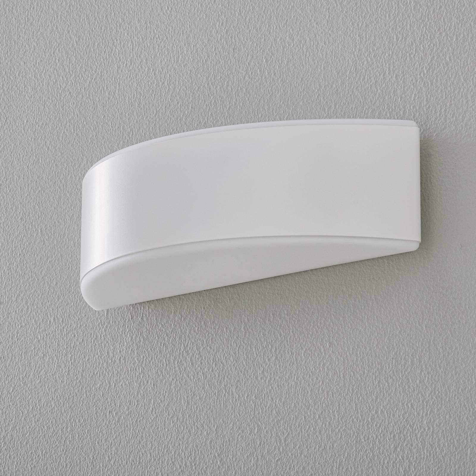 BEGA Prima seinävalaisin, valkoinen, 35,4cm
