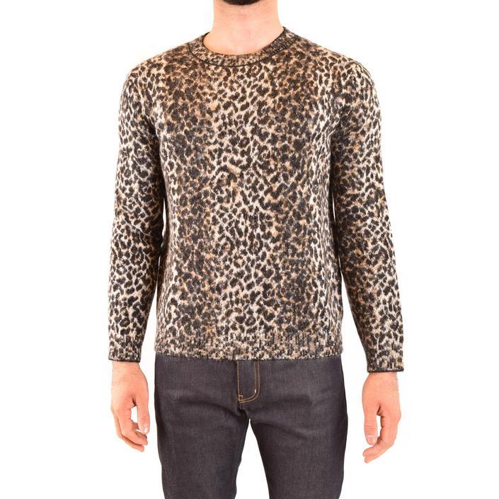 Saint Laurent Men's Sweater Multicolor 203284 - multicolor M