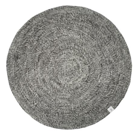 Merino Matta Granit Rund 160 cm