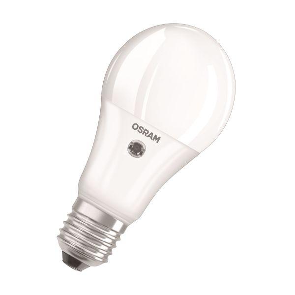 Osram PARATHOM SENSOR CLASSIC A LED-lampe matt, 9 W, 240°, 2700 K, 806 lm