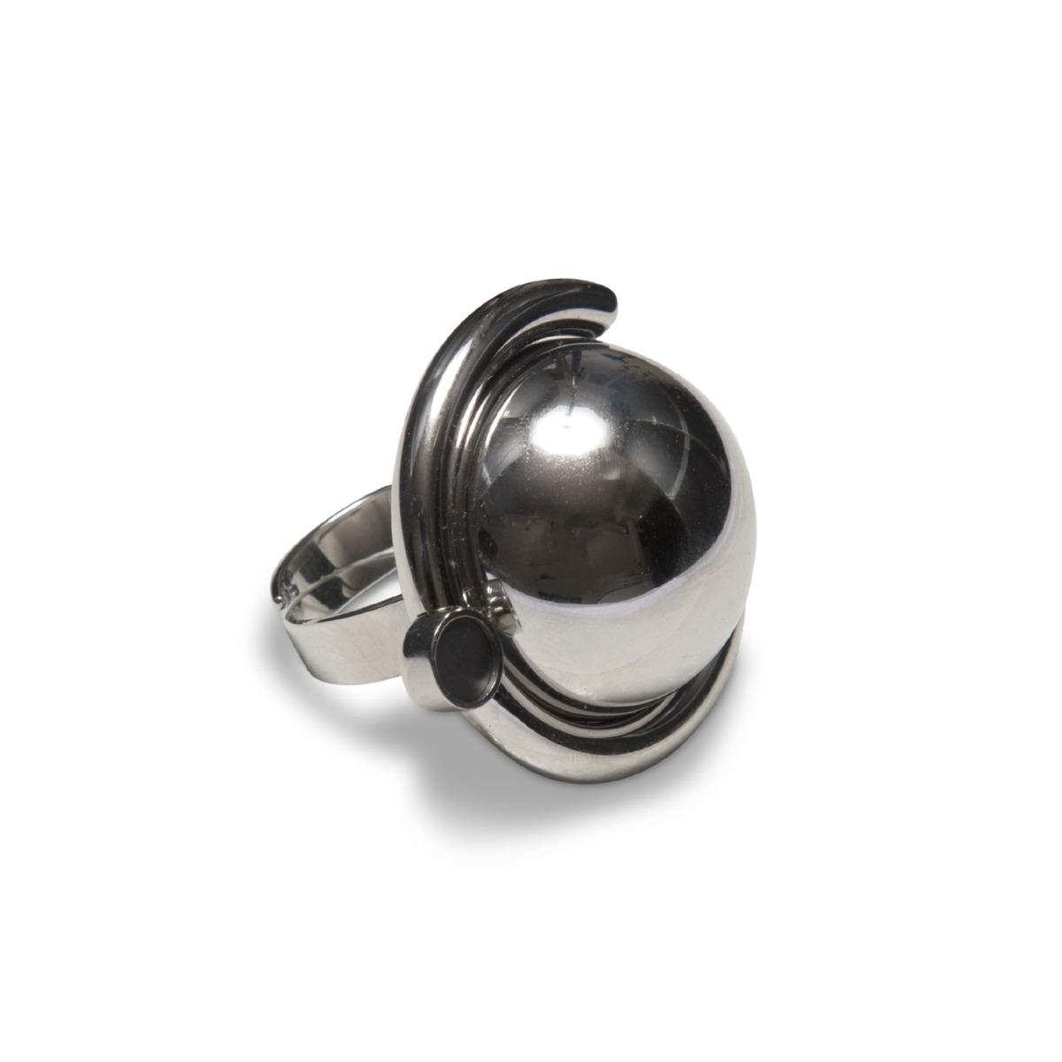 Sägen Ring Satellite R4 Silver