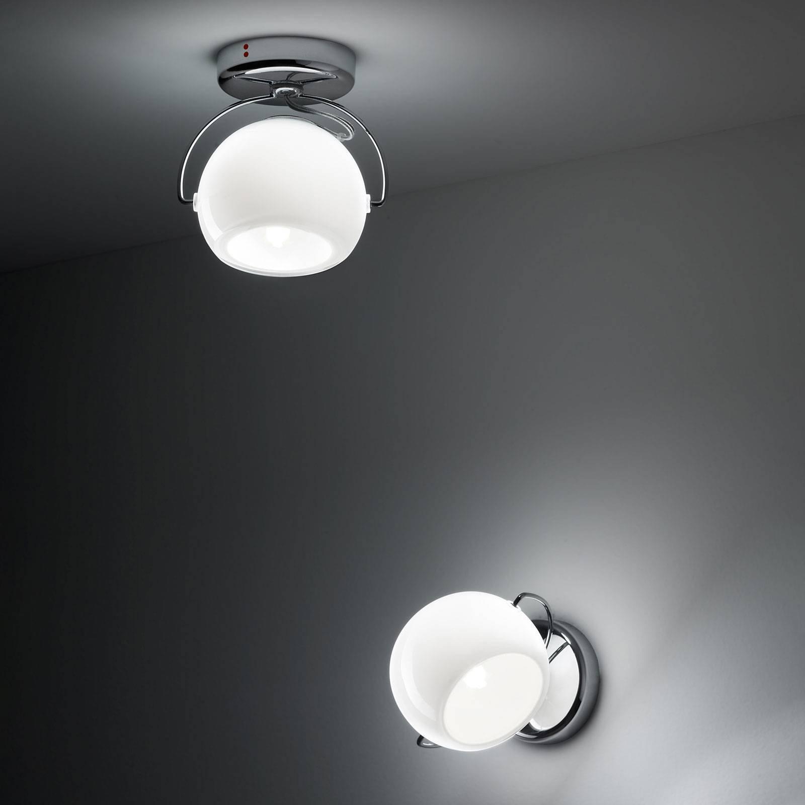 Fabbian Beluga White taklampe direkte 1 lyskilde
