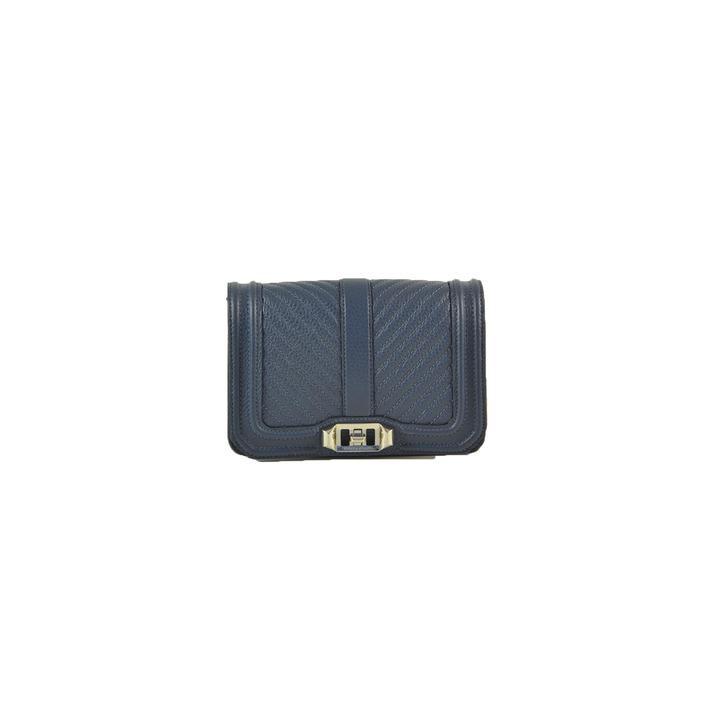Rebecca Minkoff Women's Clutch Bag Blue 226185 - blue UNICA