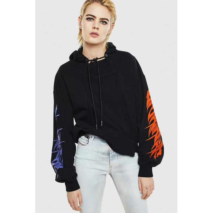 Diesel Women's Sweatshirt Various Colours 297889 - black XS