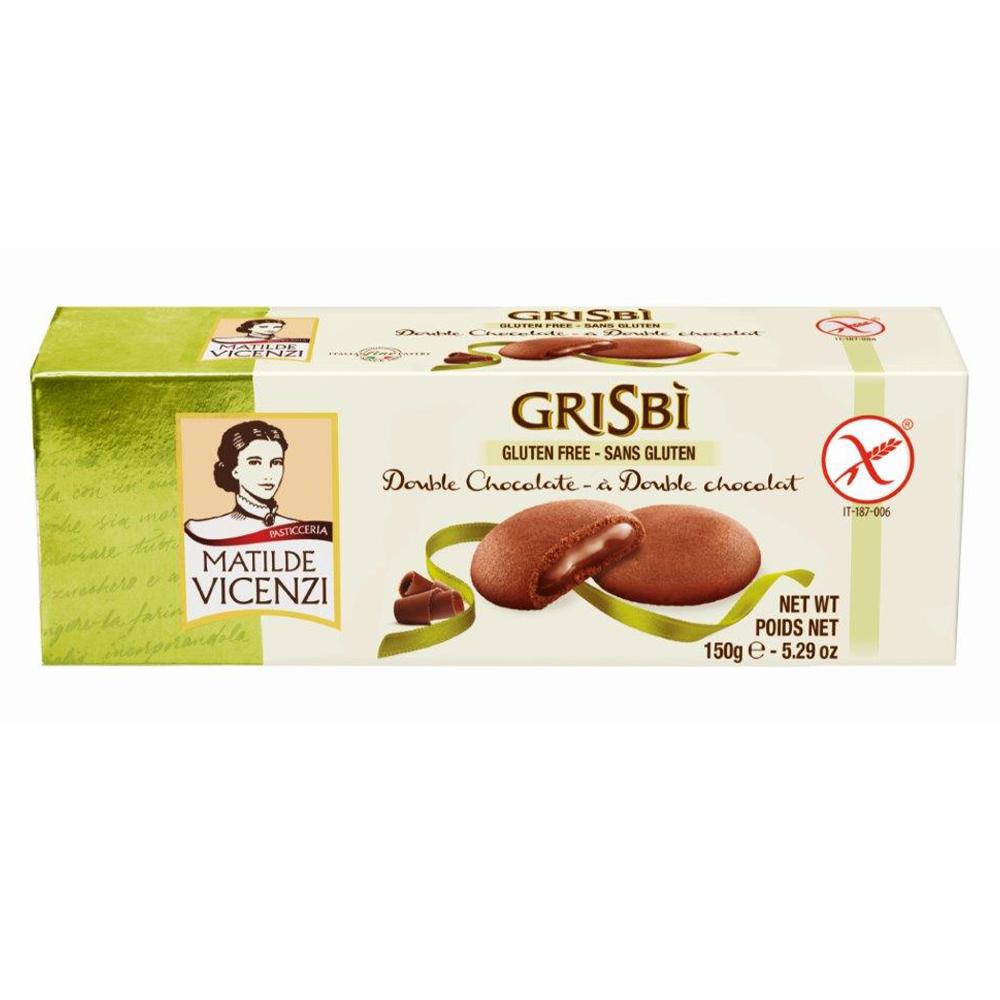 Chocolate Gluten Free Biscuits 150g by Grisbi