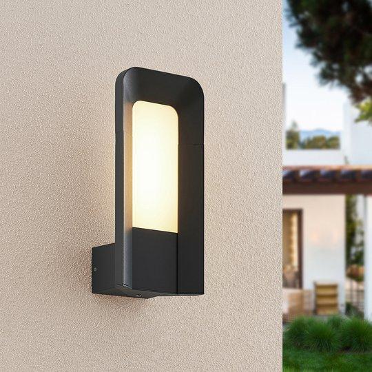 Lucande Secunda utendørs LED-vegglampe
