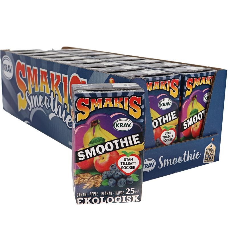 Eko Blåbär-Banan Smoothie 18-pack - 33% rabatt