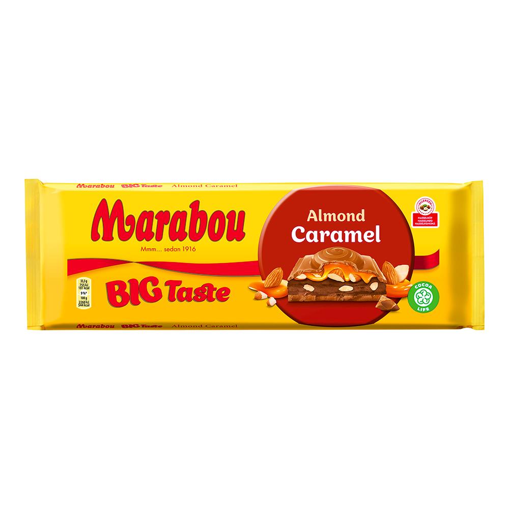 Marabou Almond Caramel - 300 gram