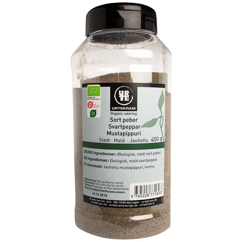 Luomu Mustapippuri 450g - 50% alennus