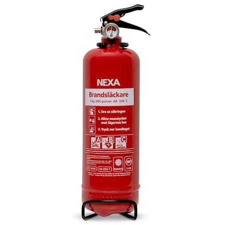 Nexa Fire & Safety Brandsläckare Röd 1kg 8A