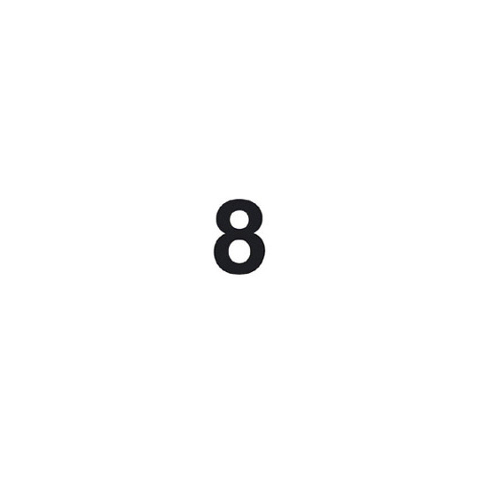 Selvklebende tallet 8