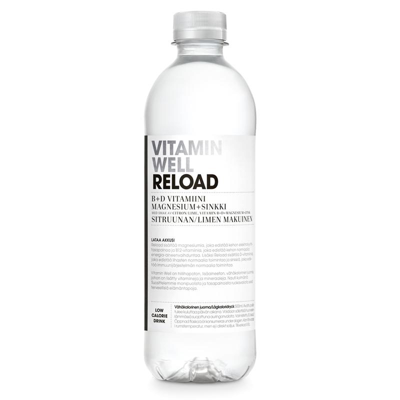 "Dryck ""Reload"" Citron & Lime 500ml - 50% rabatt"