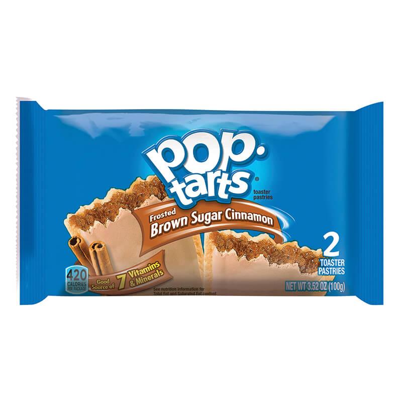 Kelloggs Pop-Tarts Brown Sugar & Cinnamon 2-pack
