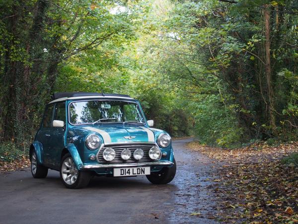 Escape the City in a Classic Mini Cooper