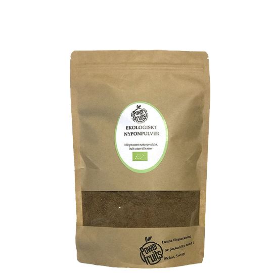 Ekologiskt Nyponpulver, 500 g