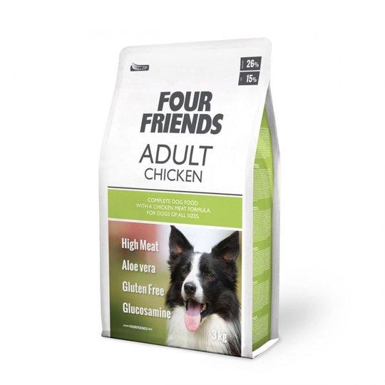 FourFriends Dog Adult Chicken (3 kg)