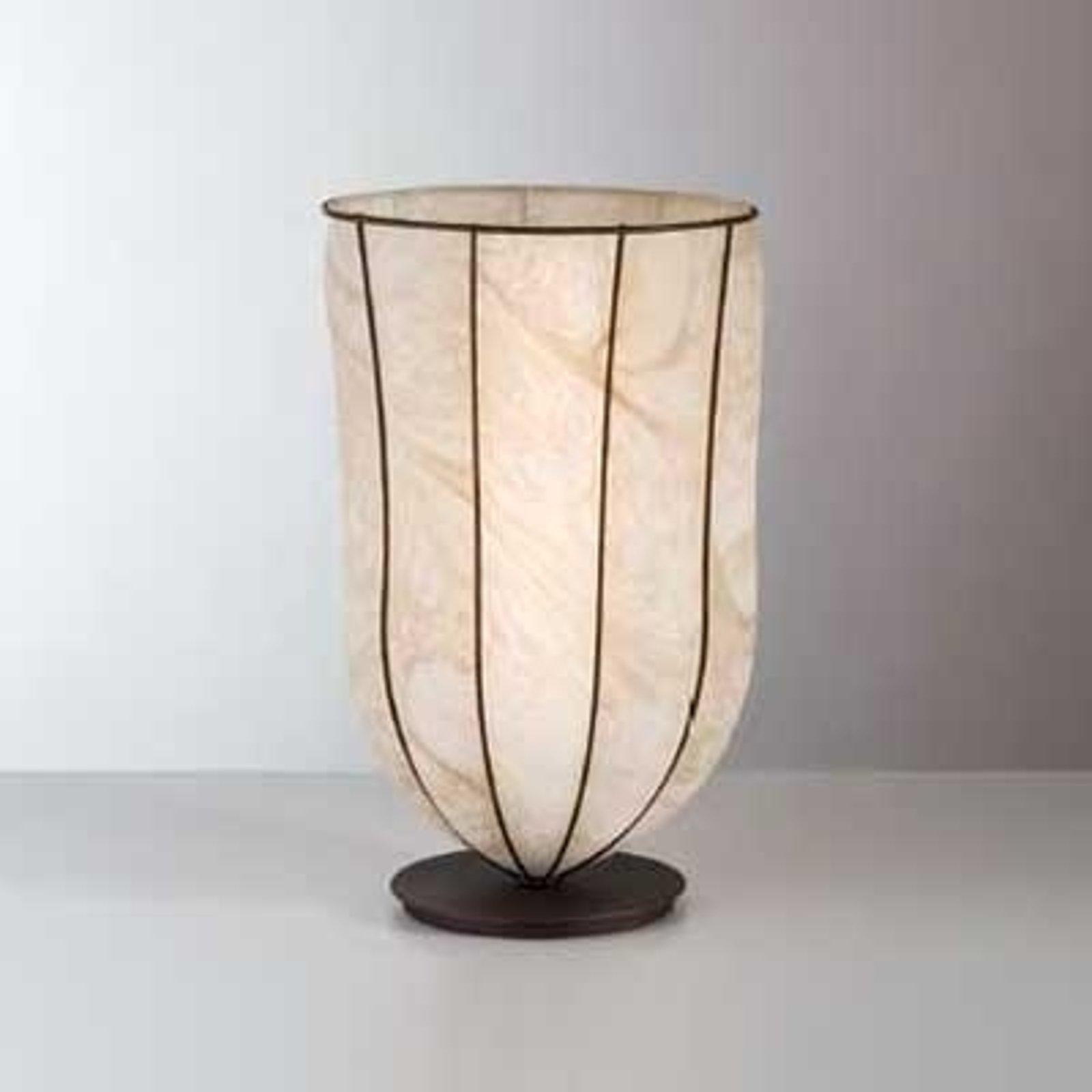 Antikk bordlampe GIARA, 32 cm