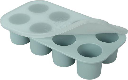 Barnmatsburken Porsjonsform Med Lokk, Grønn