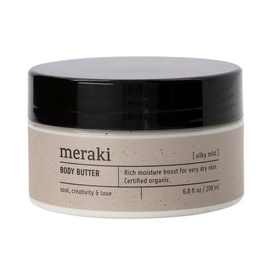 Body butter, Silky mist, 200 ml Meraki Vartalovoiteet