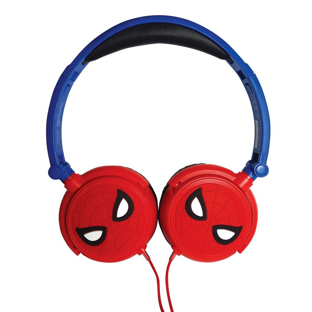 Lexibook - Spider-Man Stereo Wired Foldable Headphone (HP010SP)