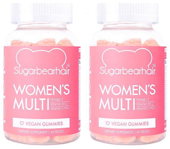 SugarBearHair - 2 x Women's Multi Vitamins 60 Pcs