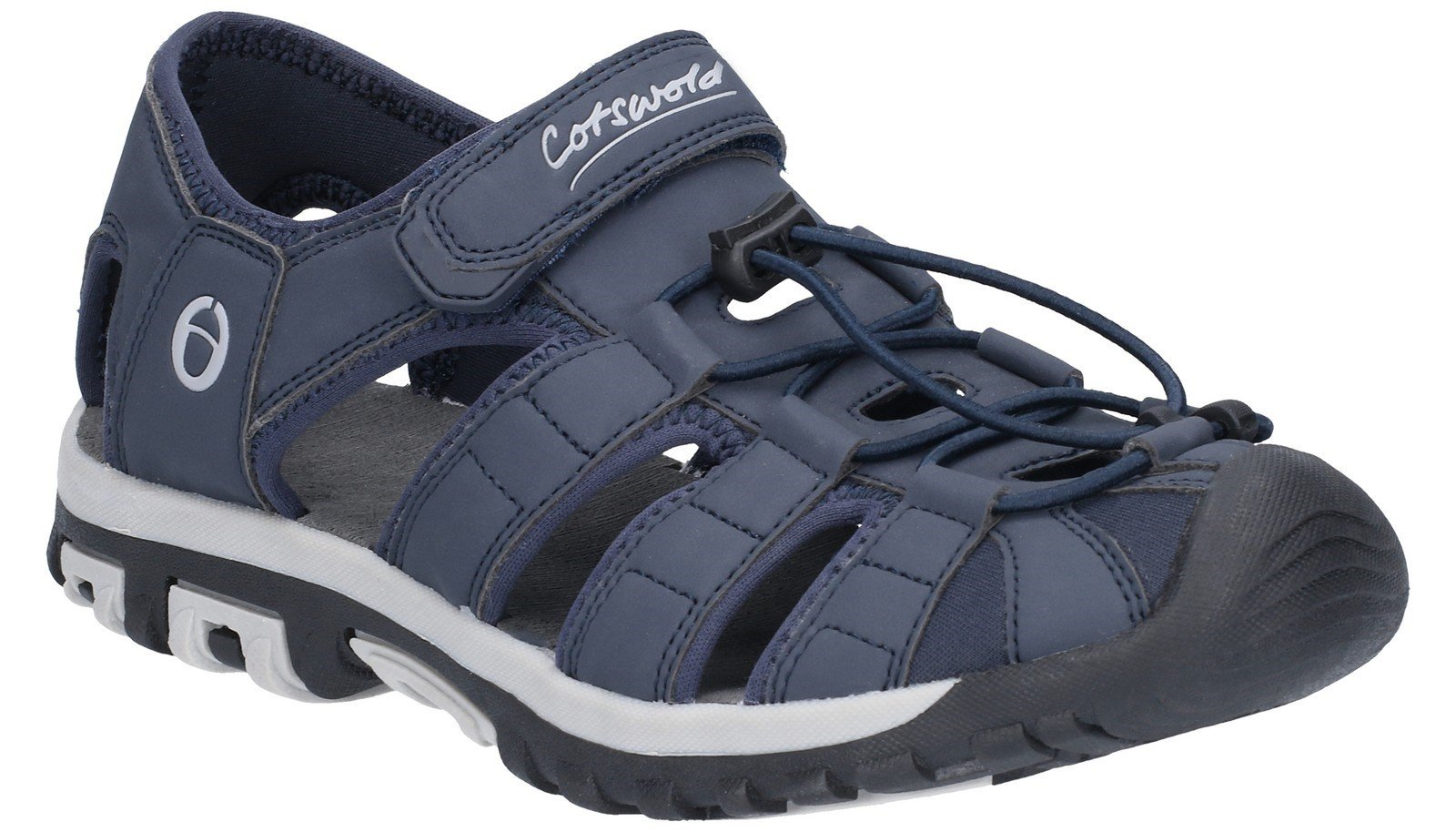 Cotswold Men's Tormarton Closed Toe Fisherman Walking Sandal Blue 28232 - Blue 6