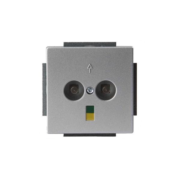ABB Impressivo Potentiaalintasauspistorasia 2-osainen Alumiini