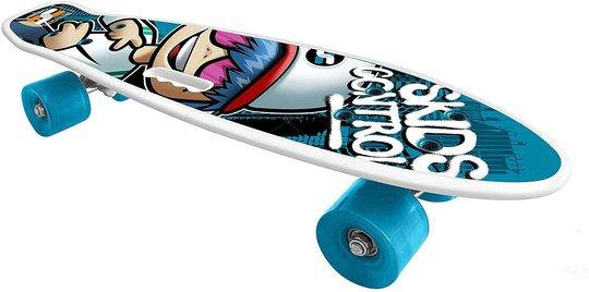 Stamp Skateboard Med Håndtak Skids Control