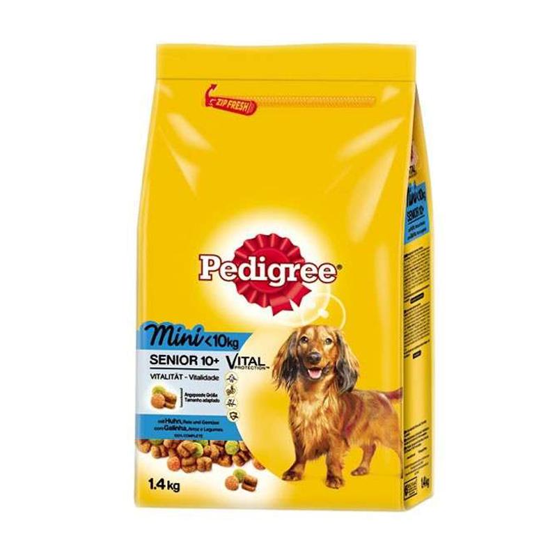 Koiranruoka Senior Kanaa & Riisiä 1,4kg - 26% alennus