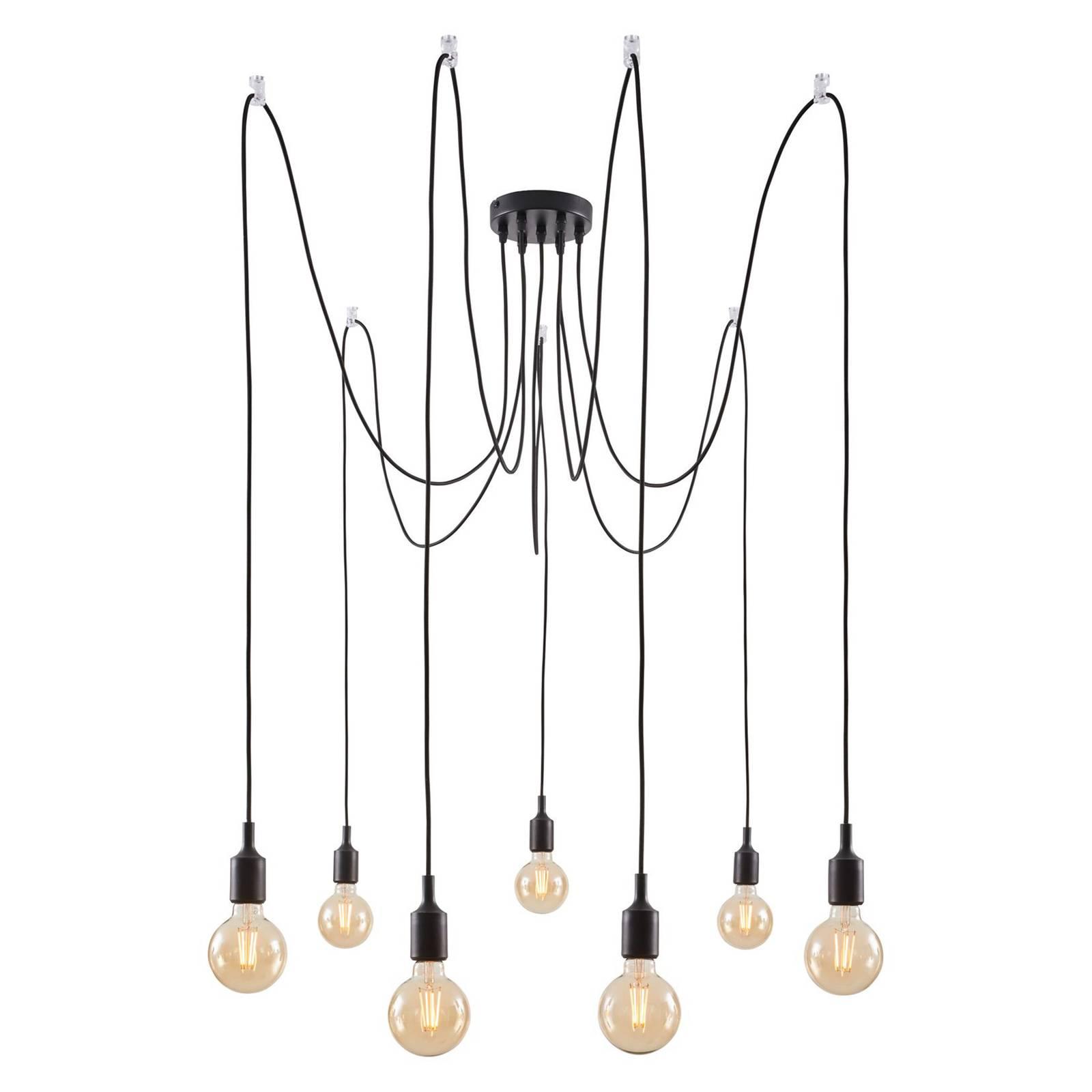 Paulmann Neordic Ketil -riippuvalo, 7-lamppuinen