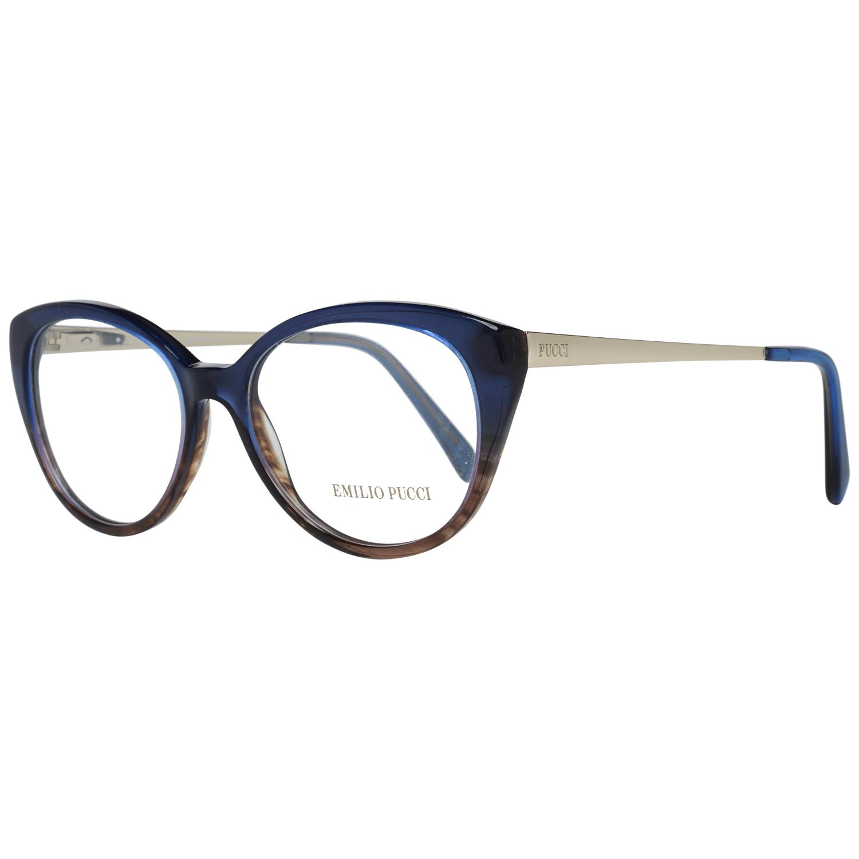 Emilio Pucci Women's Optical Frames Eyewear Blue EP5063 53092