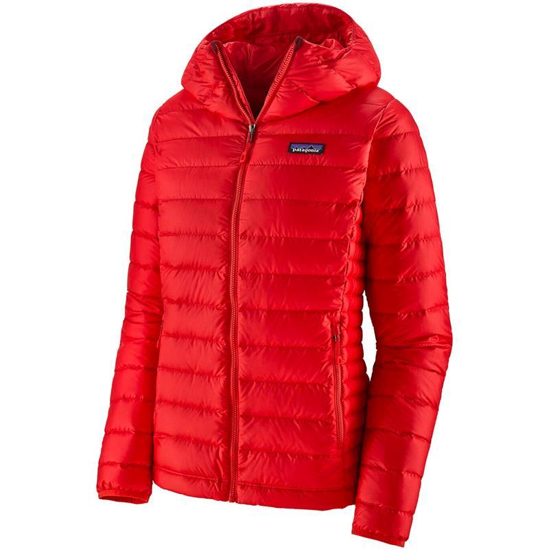 Patagonia Down Sweater Hoody S Hettejakke, dame, Catalan Coral