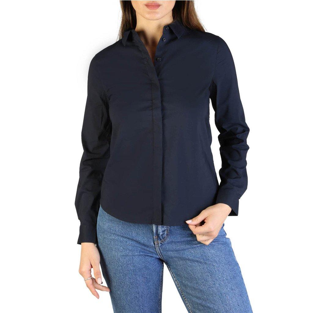Armani Exchange Women's Shirt Blue 8NYC02_YNE1Z - blue XS