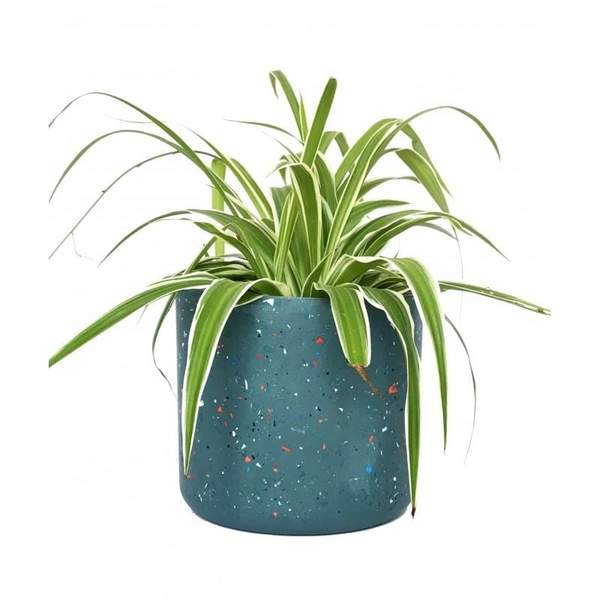 OUTLET Large Navy Blue Plant Pot