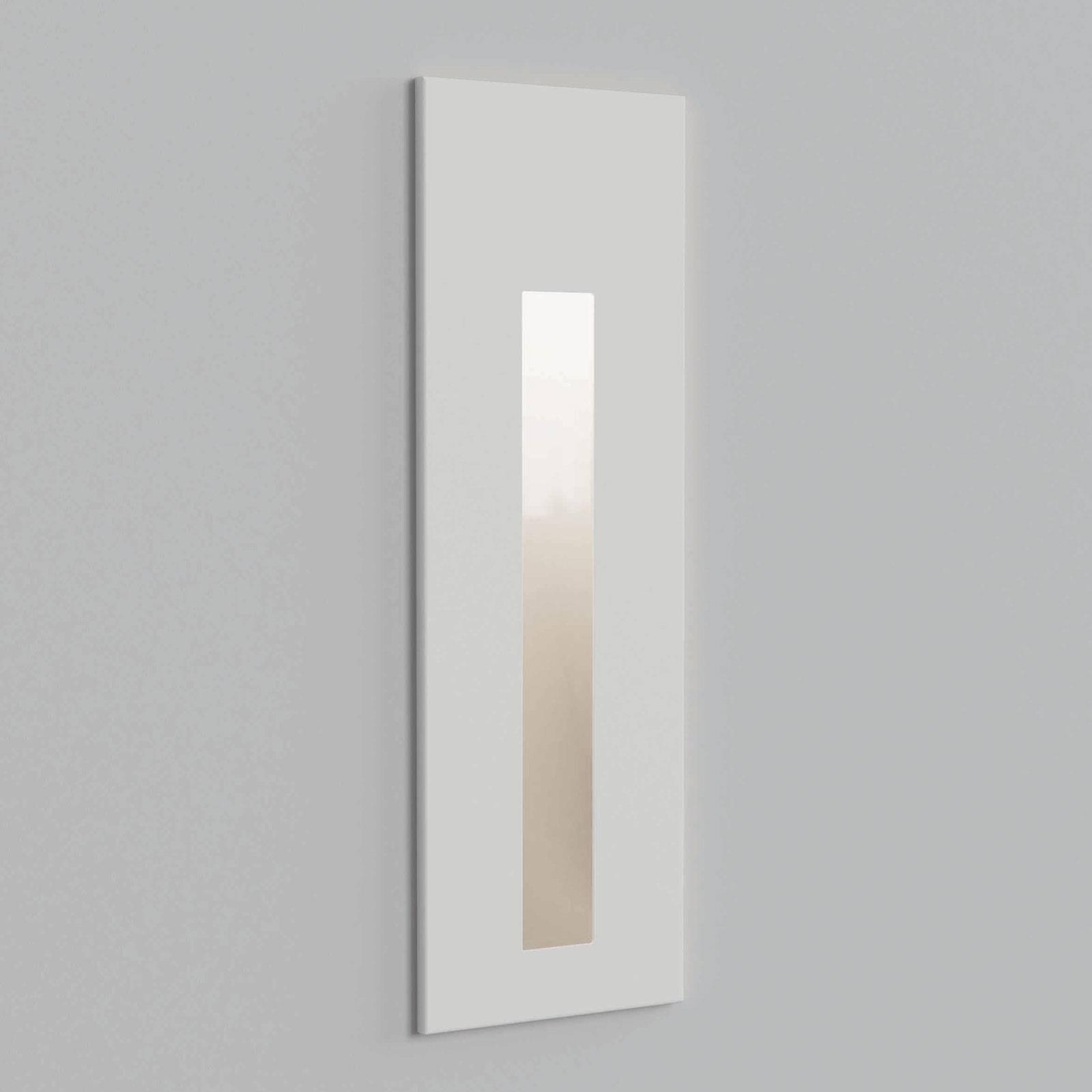 Astro Borgo 55 -seinäuppovalaisin, valkoinen
