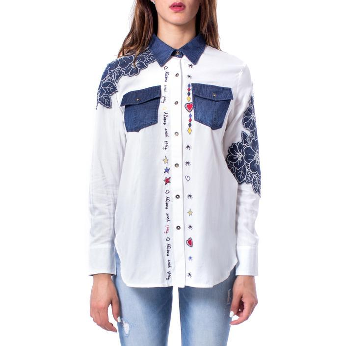 Desigual Women's Shirt White 167700 - white XS