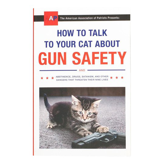 How to Talk to Your Cat About Gun Safety Bok