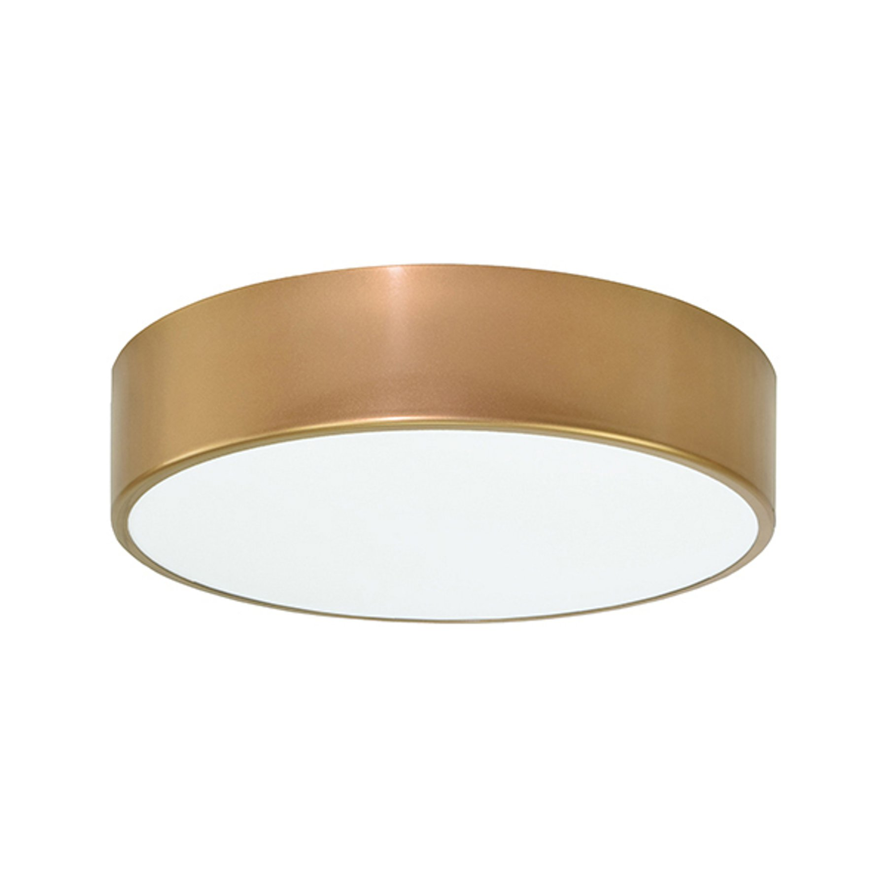Taklampe Cleo Ø 30 cm, gull