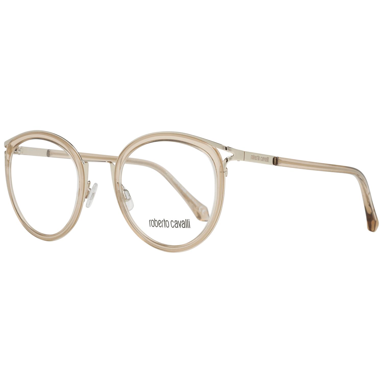 Roberto Cavalli Women's Optical Frames Eyewear Beige RC5070 49045