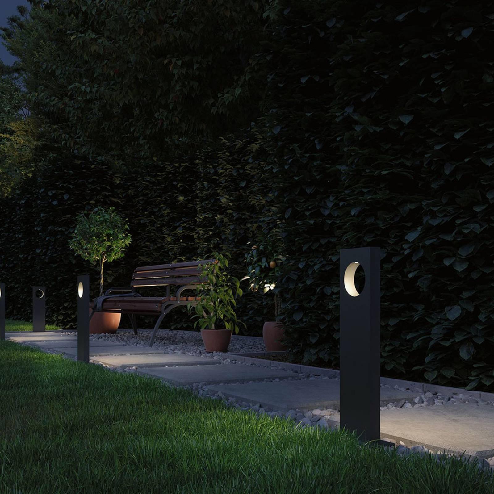 Paulmann Plug & Shine -LED-pylväsvalaisin Ivo
