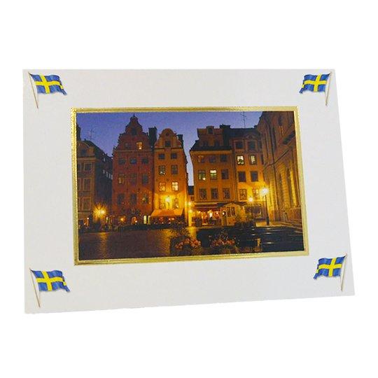 """Kort Dubbelt """"Stockholm Gamla stan"""" - 97% rabatt"""