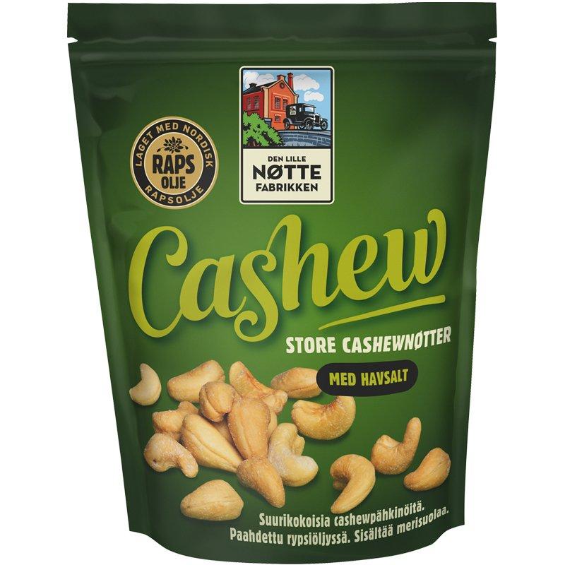 Cashewpähkinät Merisuola - 40% alennus