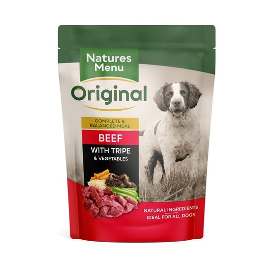 Natures:menu Dog Adult Beef with Tripe 300 g