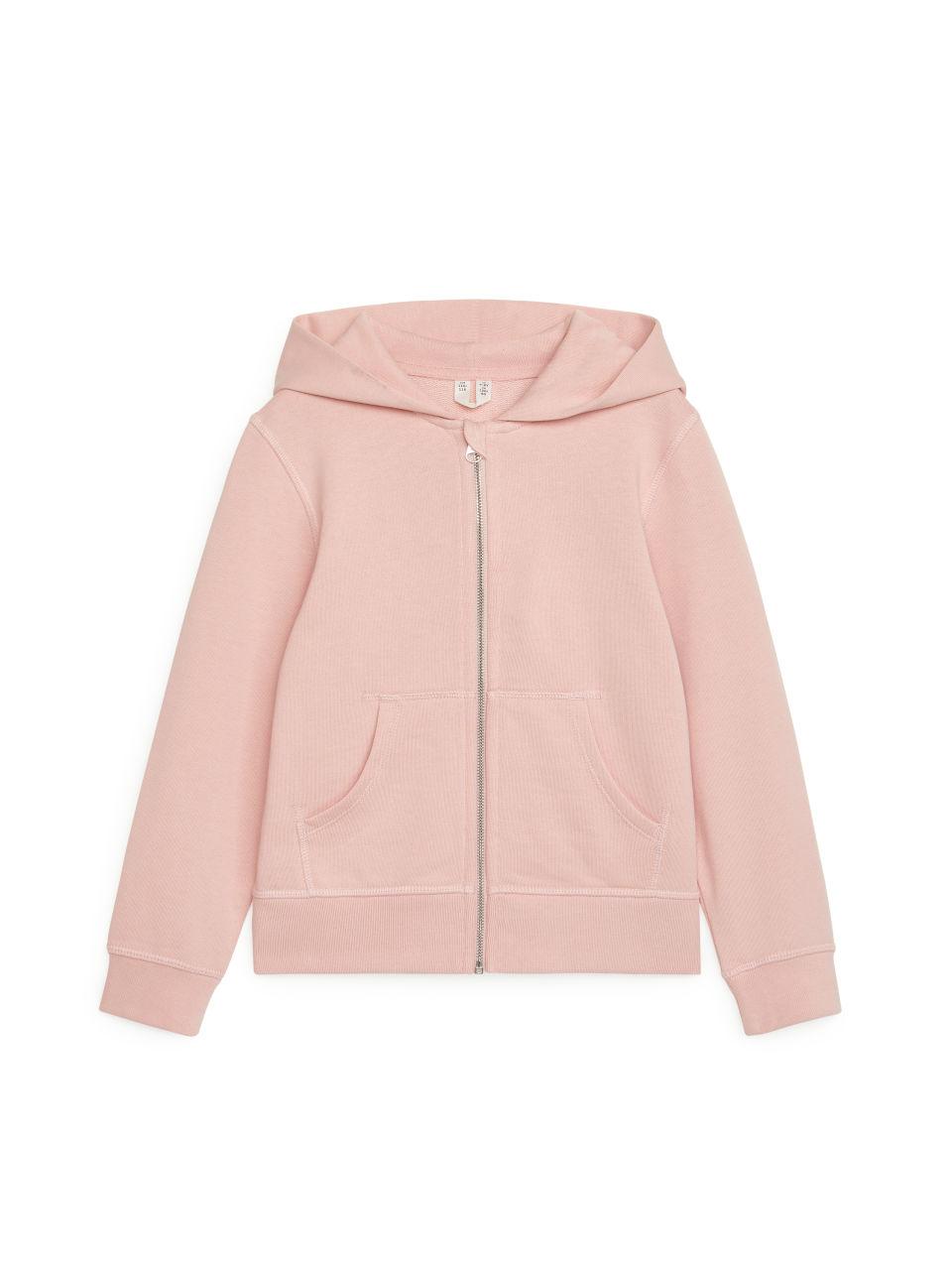 Zip Hoodie - Pink