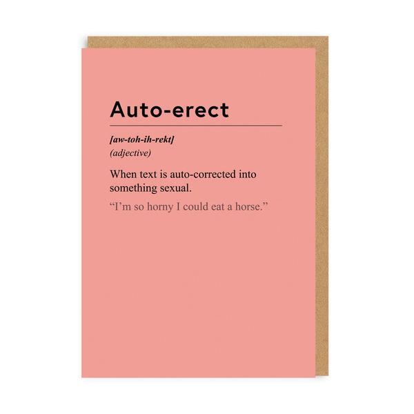 Auto-erect Greeting Card