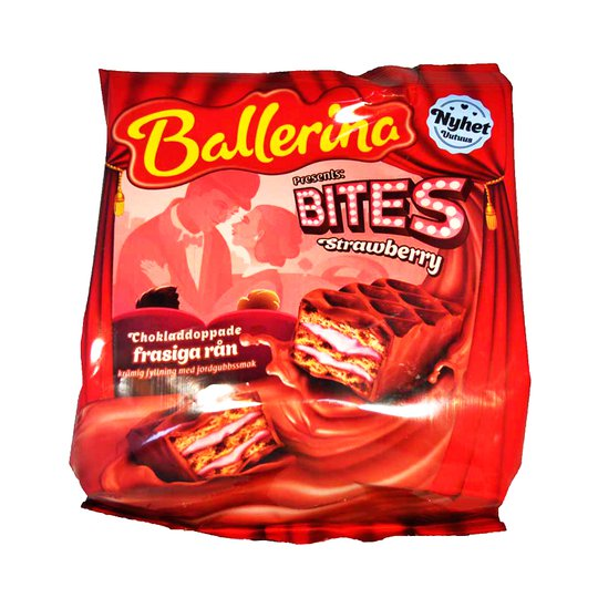 Ballerina Bites Strawberry - 81% rabatt