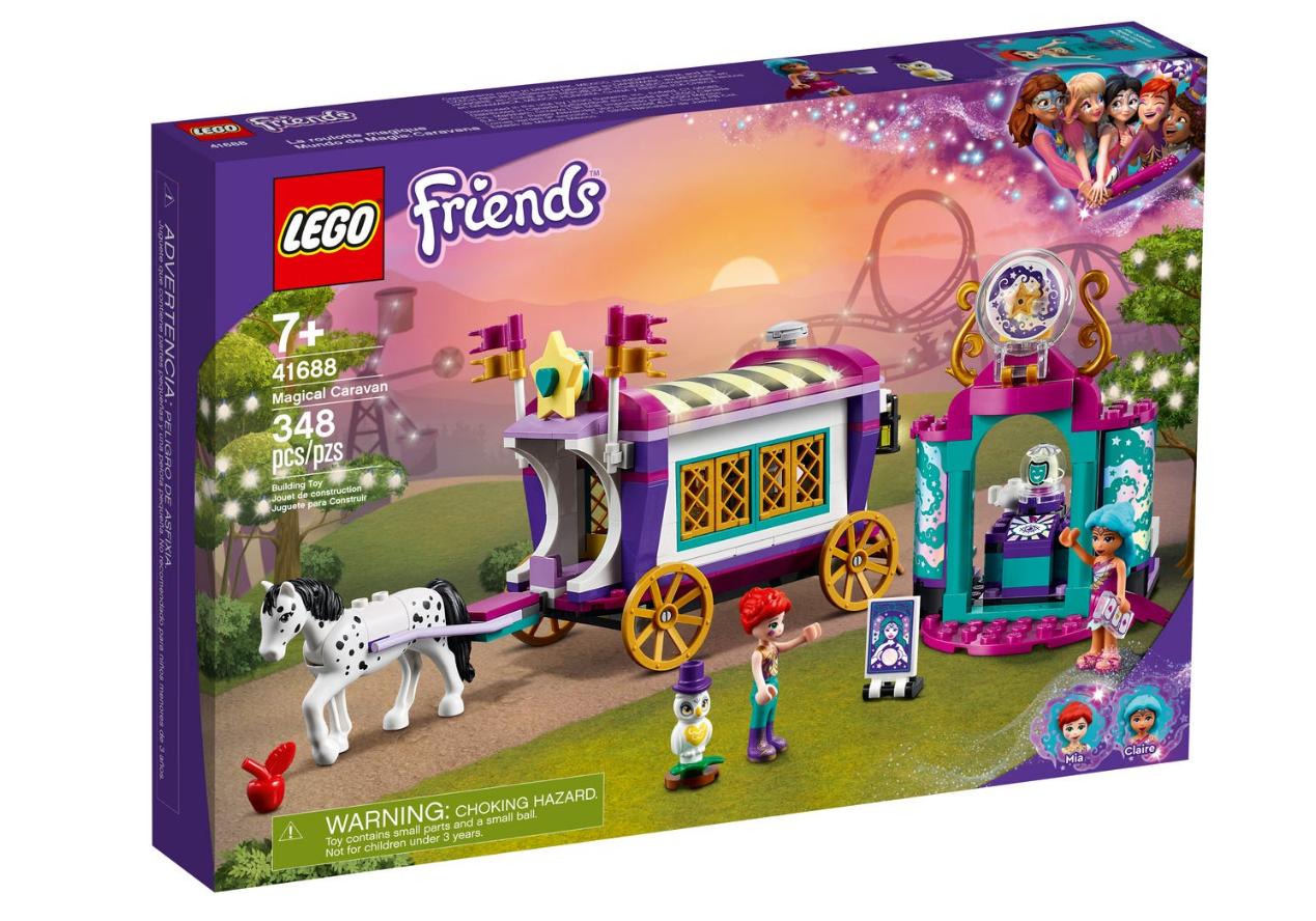 LEGO Friends - Magic circus carriage (41688)